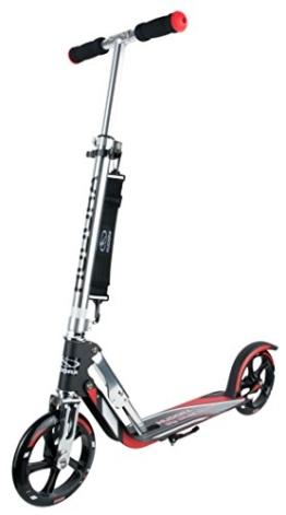 HUDORA Big Wheel Scooter 205, Tret-Roller klappbar - City-Scooter - 14758, rot/schwarz - 1