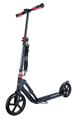 HUDORA Big Wheel Scooter Style 230,schwarz - Tret-Roller klappbar - City-Scooter, schwarz, 14235 - 1