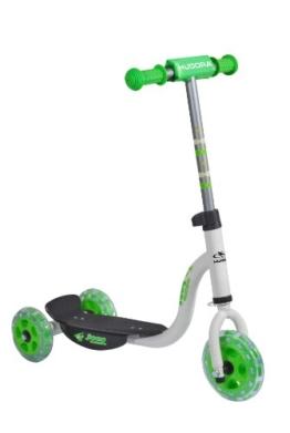 HUDORA Kinder-Roller Joey 3.0 weiß/grün, Scooter für Jungs, Kinder Scooter, 11061 - 1