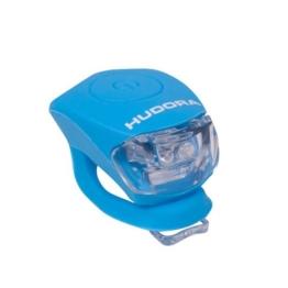 HUDORA LED Lampe Licht Shine, Fahrradlicht LED, himmelblau, 85066 - 1