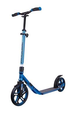 HUDORA Scooter Roller CLVR 250, Tret-Roller, Kickboard, Klapproller, blau, 14834 - 1