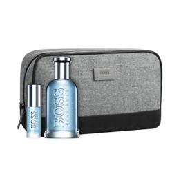 HUGO BOSS Boss Bottled Tonic Geschenkset 100ml EDT Eau de Toilette Spray + 8ml Mini EDT + Pouch - 1