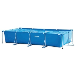 INTEX 28273NP Rectangular Frame Pool Blue, 450x220x85cm - 1