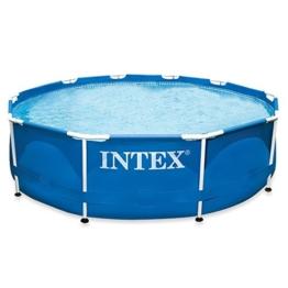 Intex Aufstellpool Frame Pool Set Rondo, ohne Filterpumpe, blau, Ø 305 x 76 cm - 1