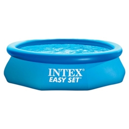 Intex Easy Set Aufstellpool, blau, Ø 305 x 76 cm - 1