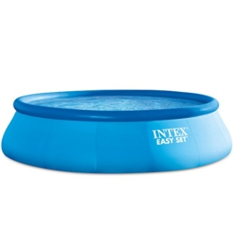 Intex Easy Set Aufstellpool, blau, Ø 457 x 122 cm - 1