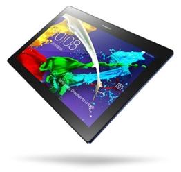 Lenovo TAB2 A10-30 25,65 cm (10,1 Zoll HD IPS) Media Tablet (QC APQ8009 Quad-Core Prozessor, 1,3GHz, 2GB RAM, 16GB eMMC, 2MP +  5MP Kamera, Touchscreen, Dolby Atmos Sound, Android 5.1) midnight blau - 1