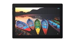 Lenovo Tab3 10 Plus 25,7 cm (10,1 Zoll Full HD IPS Touch) Tablet-PC (MediaTek MT8161 Quad-Core, 2GB RAM, 16GB eMCP, Android 6.0) schwarz - 1