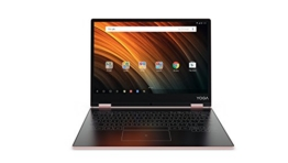 Lenovo YOGA A12 30,99cm (12,2 Zoll HD IPS Touch) 2in1 Tablet (Intel Atom x5-Z8550 Quad-Core, 2GB RAM, 32GB eMMC, Android 6.0, 720P Kamera, Dolby Atmos) roségold - 1