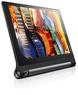 Lenovo Yoga Tab 3-10 25,65cm (10,1 Zoll HD) Convertible Media Tablet (Qualcomm APQ8009 Quad-Core, 1,3GHz, 2GB RAM, 32GB eMMC, Kamera (drehbar): 8MP, Touchscreen, Dolby Atmos, Android 5.1) schwarz - 1