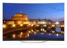 LG 77EC980V 195 cm (77 Zoll) Curved OLED Fernseher (Ultra HD, Triple Tuner, 3D, Smart TV) - 1