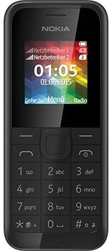 Microsoft Nokia 105 DUAL SIM schwarz RM-1133 2000 Radio - 1