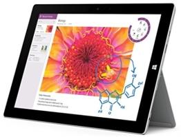 Microsoft Surface 3 7G7-00004 Tablet-pc, 32 GB, 27,4 cm (10,8 inch), Windows 8.1 Pro  vorinstallierte Sprachen sind: Spanisch,Portugiesisch,Italienisch - 1