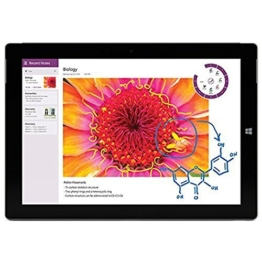 Microsoft Surface 3 Tablet PC (10.8 Zoll (27,43cm) ClearType Full-HD-Plus Display, Intel Atom X7-Z8700 Quad-Core, 64GB Speicher, 2GB RAM, Windows 8.1) - 1
