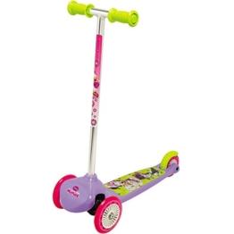 Minnie Mouse Roller Twist Scooter mit Hinterradbremse für Kinder ab 3 Jahren: Twist Kinder Roller 3-Röder Tretroller Cityroller - 1