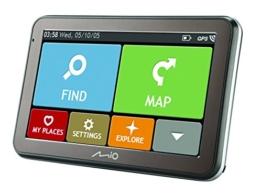 Mio Spirit 7670 TMC Bluetooth, Full Europe Lifetime Auto-Navigation schwarz - 1