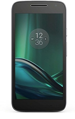 Motorola Moto G4 Play Smartphone (12,7 cm (5 Zoll), 16 GB, Android, Dual-SIM) schwarz [Exklusiv bei Amazon] - 1