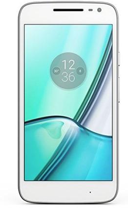 Motorola Moto G4 Play Smartphone (12,7 cm (5 Zoll) 16 GB, Android) weiß (Dual SIM) [Exklusiv bei Amazon] - 1