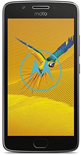 Motorola Moto G5 Smartphone (12,7 cm (5 Zoll), 3GB RAM/16GB, Android) Lunar-Grau [Exklusiv bei Amazon] - 1