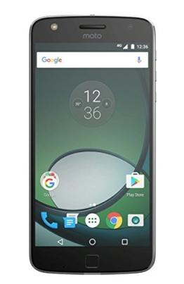 Motorola Moto Z Play Smartphone (14 cm (5,5 Zoll), 32 GB, Android) Schwarz/Silber - 1
