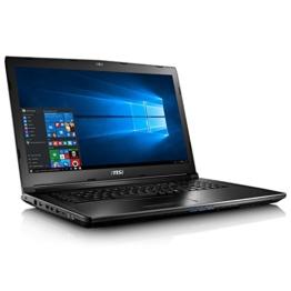 MSI GL72 6QC-029XPL 43,94 cm (17,3 Zoll) Laptop (Intel Core i7, 1000GB Festplatte, 8GB RAM, NVIDIA GeForce 940MX) schwarz - 1