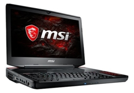 MSI GT83VR 7RF-206 Titan SLI (46,7 cm/18,4 Zoll) Gaming-Notebook (Intel Core i7-7920HQ, 1 TB HDD + 512 GB SSD, 64GB RAM, Nvidia Dual GeForce GTX 1080, Windows 10 Home) schwarz GT83 - 1