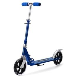 mymotto mymotto Scooter Cityroller Tretroller Roller City Scooter Erwachsene Kinder 205 mm Wheel, Outdoor und Sport, Blau - 1