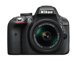 Nikon D3300 SLR-Digitalkamera Kit AF-P 18-55 VR schwarz - 1