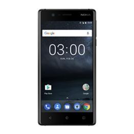 Nokia 3 SINGLE SIM Smartphone (12,7 cm (5 Zoll), 16GB, 8 Megapixel Kamera, Android 7.0) schwarz - 1