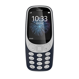 Nokia 3310 Dual SIM, Version 2017, Mobiltelefon Retro Dark Blue - 1