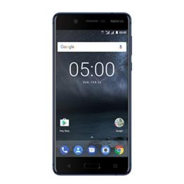 Nokia 5 Dual SIM Smartphone (13,2 cm (5,2 Zoll), 16GB, 13 Megapixel Kamera, Android 7.0) satin-temperiertes-blau - 1