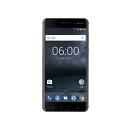 Nokia 6 SINGLE Smartphone (13,9 cm (5,5 Zoll), 32GB, 16 Megapixel Kamera, Android 7.0) matt-schwarz - 1