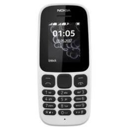 Nokia A00028535 150 Mobiltelefon (1 Zoll (2,54 cm), 4 MB ROM, Dual-Sim), weiß - 1