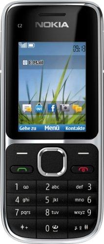 Nokia C2-01 Handy (Ohne Branding, 5,1 cm (2 Zoll), 3,2 Megapixel Kamera) schwarz - 1
