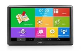 OHREX 740A 7 zoll LKW Auto GPS Navigation mit W-lan Bluetooth, Frei Voll Europa Amerika Lebenszeit Karten, Frei Lebenszeit Digitaler Verkehr - 1