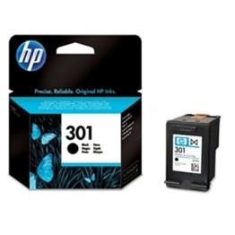 Original Tinte passend für HP DeskJet 2050 HP 301 , 301BK , 301BLACK , NO301 , NO301BK , NO301BLACK CH561EE - Premium Drucker-Patrone - Schwarz - 190 Seiten - 3 ml - 1