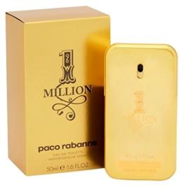 Paco Rabanne One Million homme / men, Eau de Toilette, Vaporisateur / Natural Spray 50 ml, 1er Pack (1 x 50 ml) - 1
