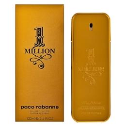 Paco Rabanne One Million homme / men, Eau de Toilette, Vaporisateur / Spray 100 ml, 1er Pack (1 x 100 ml) - 1
