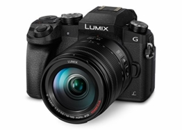 Panasonic DMC-G70HEG-K Systemkamera (16 Megapixel, 4K Video, 7,5 cm (3 Zoll) Touchscreen, WiFi) mit Objektiv Lumix G (14-140mm/F3,5-5,6) Power OIS schwarz - 1
