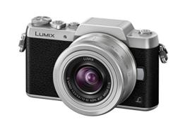 Panasonic LUMIX G DMC-GF7KEG-S Systemkamera (16 Megapixel, High-Speed Autofokus, 3 Zoll Touch-Display, WiFi und NFC) mit Objektiv H-FS12032E schwarz/silber - 1