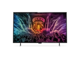 Philips 49PUS6101/12 123 cm (49 Zoll) Ultraflacher 4K Smart LED-Fernseher mit Pixel Precise (Ultra HD) - 1