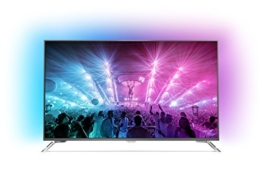 Philips  75PUS7101/12 189cm 75Zoll Fernseher Ambilight 4K Ultra HD Triple Tuner Android TV - 1
