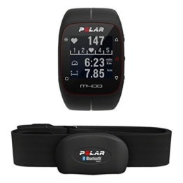 Polar GPS-Laufuhr M400 HR, schwarz, 90051341 - 1