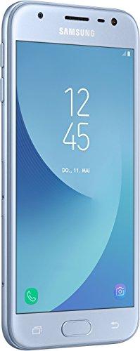 Samsung Galaxy J3 Smartphone (12,67 cm (5 Zoll) Display, 16 GB Speicher, Android 7.0) blau - 1