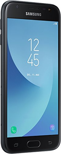 Samsung Galaxy J3 Smartphone (12,67 cm (5 Zoll) Display, 16 GB Speicher, Android 7.0) schwarz - 1