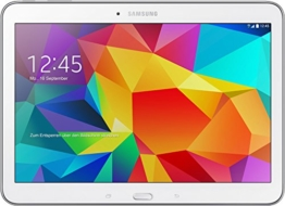 Samsung Galaxy Tab 4 10.1 LTE 25,65 cm (10,1 Zoll) Tablet-PC (1,2 GHz Quad-Core, 1,5GB RAM, 16GB interner Speicher, Bluetooth 4.0, Android 4.4.2, EU-Stecker) weiß - 1