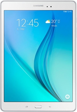 Samsung Galaxy Tab A T550N 24,6 cm (9,7 Zoll) WiFi Tablet-PC (Quad-Core, 1,2 GHz, 16 GB, Android 5.0) weiß - 1