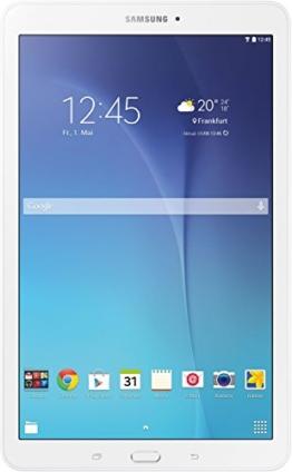Samsung Galaxy Tab E T560N 24,3 cm (9,6 Zoll) Einsteiger Tablet-PC (Quad-Core, 1,3GHz, 1,5GB RAM, WiFi, Android 4.4) weiß - 1
