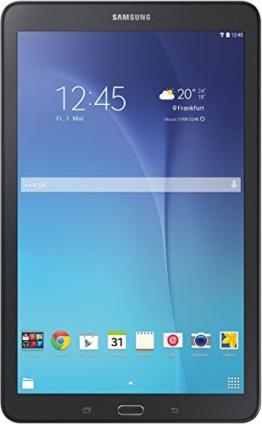 Samsung Galaxy Tab E T560N 24,3 cm (9,6 Zoll) Einsteiger Tablet-PC (Quad-Core, 1,3GHz, 1,5GB RAM, WiFi, Android 4.4) schwarz - 1