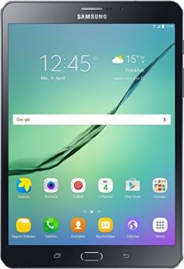 Samsung Galaxy Tab S2 T719 20,31 cm (8 Zoll) LTE Tablet PC (2 Quad Core Prozessoren 1,8 GHz + 1,4GHz 3GB RAM Android) schwarz - 1